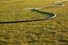 Mokry ogrodnictwo wąż elastyczny zdjęcie royalty free