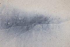 Mokry piaska abstrakta tło Zdjęcie Stock