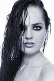 Mokry włosy Obrazy Royalty Free