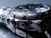 mokry zegarka nadgarstek Fotografia Stock