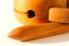 Moktak - um instrumento musical budista fotografia de stock
