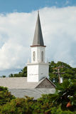 Mokuaikaua church in Kona on Big Island of Hawaii Stock Photos