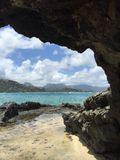 Mokulele海岛 库存图片