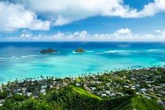 Mokulua-Inseln stockbild