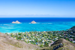 Mokulua Islands, Oahu Royalty Free Stock Photos