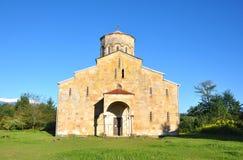 Mokva寺庙在阿布哈兹 免版税库存照片