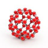 Molécula Fotografía de archivo libre de regalías