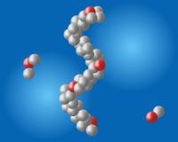 Molécula ilustración del vector