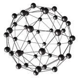 Molécula Fotografía de archivo