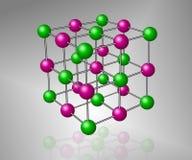 Molécula Imagen de archivo