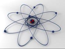 Molécula 3d Fotos de archivo