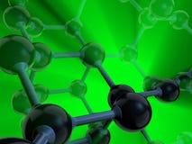 Molécula 5 Fotos de archivo libres de regalías