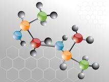 Molécula Foto de archivo