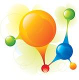 Molécula Imagem de Stock Royalty Free