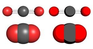 Dióxido de carbono Imagen de archivo libre de regalías