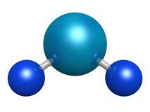 Molécula de agua Imágenes de archivo libres de regalías
