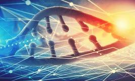 Molécula de la DNA libre illustration