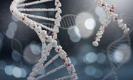 Molécula de la DNA Imagen del concepto ilustración del vector