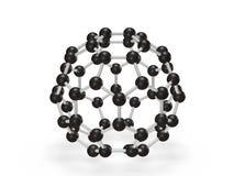 Molécula del polímero Fotos de archivo libres de regalías