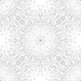 Molécula gráfica inconsútil y comunicación de la textura Líneas conectadas con los puntos Ilustración Imagenes de archivo