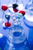 moléculaire modèle de laboratoire Image stock
