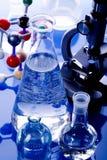 moléculaire modèle de laboratoire Photographie stock