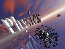Moléculaire, physique. Illustration de Vecteur
