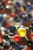Moléculas fotografia de stock