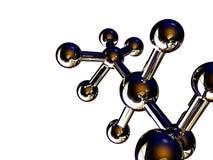 Moléculas Fotografia de Stock Royalty Free