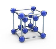 Molécule Images libres de droits
