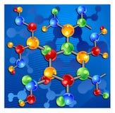 molécule Image libre de droits