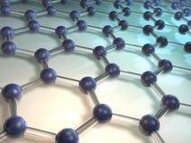 Molécule 8 Image libre de droits
