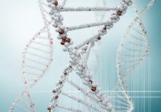 Molécule d'ADN photo libre de droits