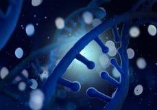 Molécule d'ADN photographie stock libre de droits