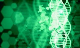 Molécule d'ADN Image stock