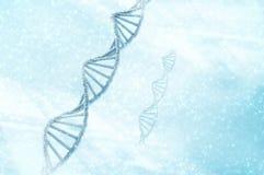 Molécule d'ADN illustration de vecteur