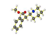 Molécule de ritalin Photo stock