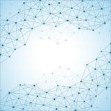 Molécule de structure de l'ADN et des neurones abrégez le fond Médecine, la science, technologie Photos libres de droits