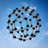 Molécule planante Photographie stock