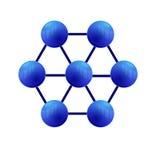 Molécules Images libres de droits