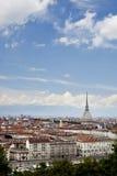 Mol Antonelliana, Turijn, Piemonte, Italië. stock afbeelding