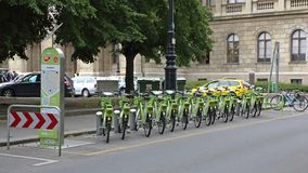 Mol Bicycles Hungary fotografering för bildbyråer