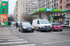 Mol Gara De Nord staci Fotografia Stock