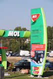 MOL gas station Royalty Free Stock Image