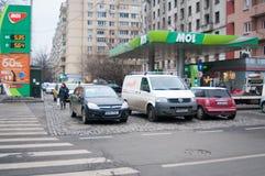 Mol Station Gara de Nord Stockfotografie
