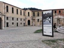 Mol Vanvitelliana of Lazzaretto in Ancona, Italië Stock Foto's
