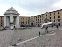 Mol Vanvitelliana of Lazzaretto in Ancona, Italië royalty-vrije stock afbeelding