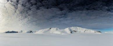 Mola ártica em Spitsbergen sul Foto de Stock
