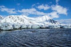 Mola ártica em Spitsbergen sul Imagens de Stock Royalty Free