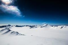 Mola ártica em Spitsbergen sul Fotografia de Stock Royalty Free